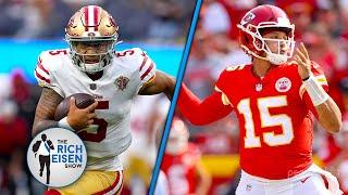 FOX Sports' Geoff Schwartz Talks NFL Week 2; Trey Lance's Bright Future with 49ers | Rich Eisen Show screenshot 4