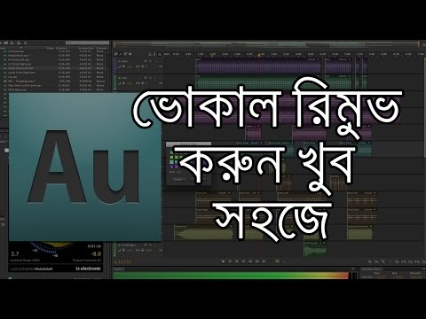 Remove Vocal from a Song with Adobe Audition (Bengali)