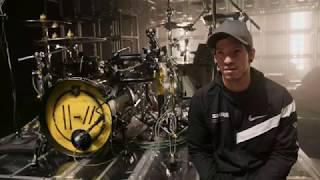 Download lagu Josh Dun of twenty one pilots Drum Kit Tour 2019 - SJC Custom Drums