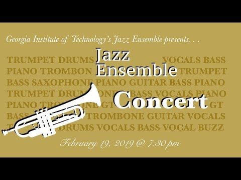 Georgia Tech Jazz Ensemble Concert