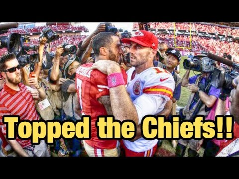 NFL 49ers are sneaking back into prominence with tough defense! 49ers vs Chiefs 2014 Week 5