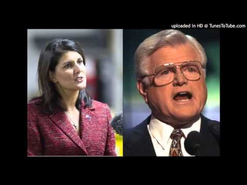 Nikki Haley Channels Ted Kennedy on Illegal Aliens - Howie Carr Show