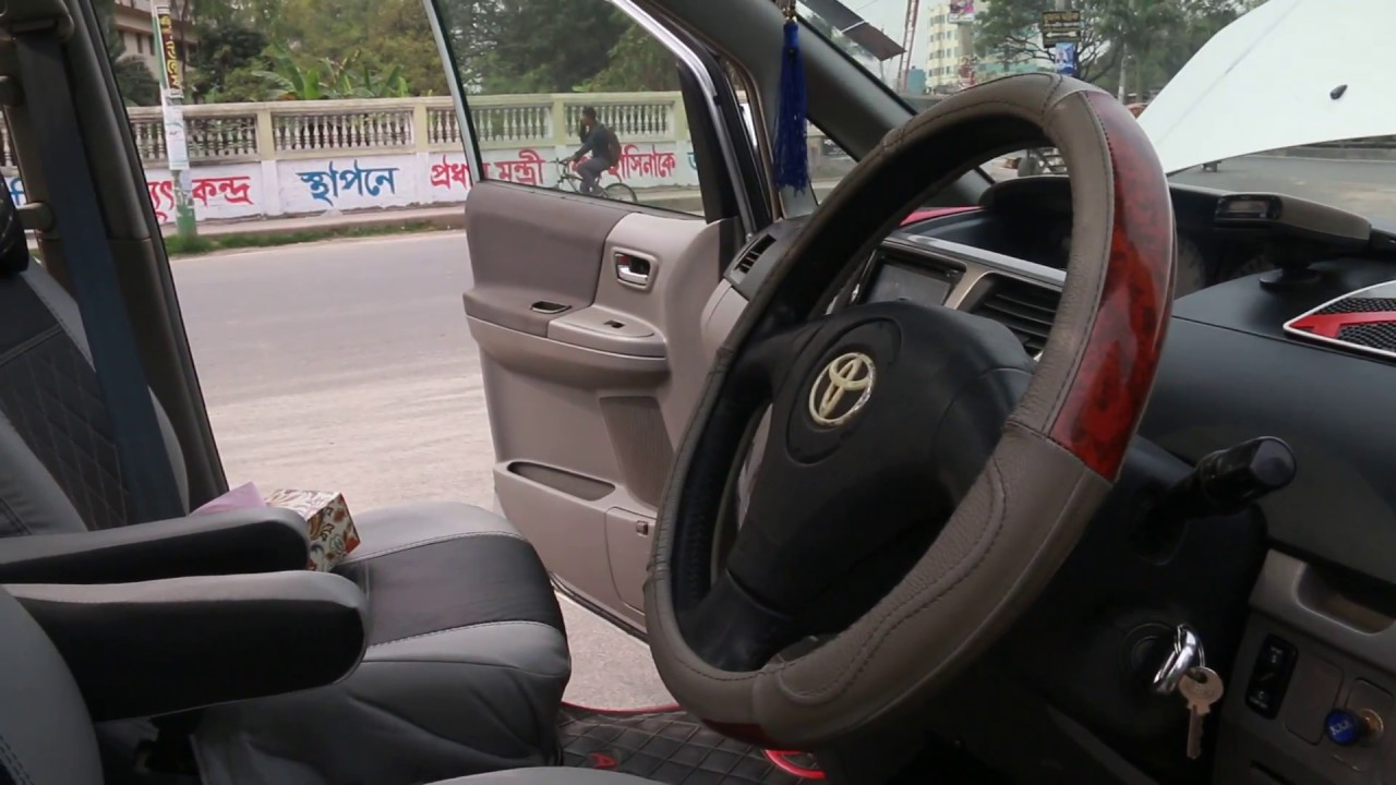 Toyota X Noah 2002 Silver 2 Sunroof Hd Video Of Cars Engine And Interior Condition By Dslr Cam