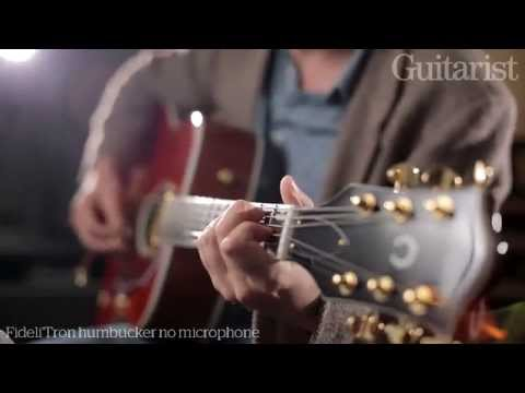 Gretsch G5034TFT Rancher electro-acoustic guitar demo