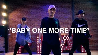 Britney Spears // Baby One More Time (live) // Choreography by: Kenny Wormald at Playground LA