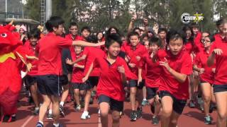 West Island School Inter Dynasty Athletics 2014