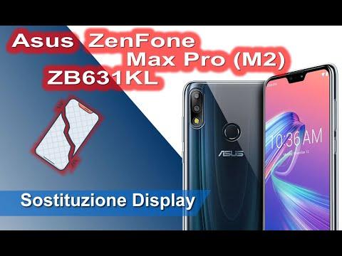 Asus - ZenFone Max Pro (M2) ZB631KL Smontaggio completo e Sostituzione Display - Display Replacement