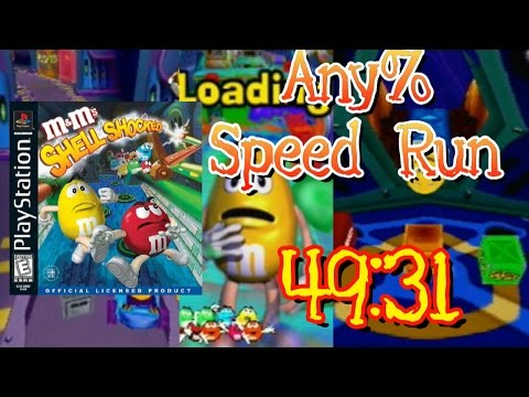 M&M's Shell Shocked Any% Speed Run in 49:31