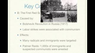 APUSH Review: Key Concept 7.2 (Period 7: 1890 - 1945)