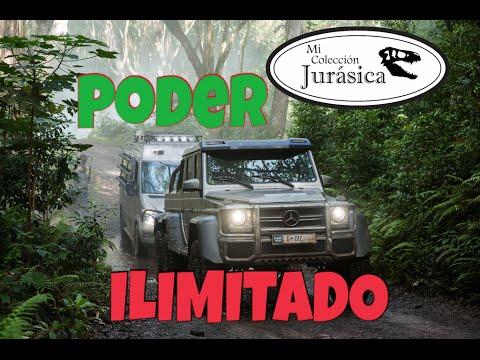 11 Jada Toys Camioneta  Jurassic World Mercedes Benz  AMG 6x6