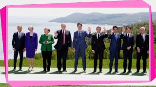 [Schock] | Merkel bei G7-Gipfel: Lieber keine Schritte als Rückschritte - SPIEGEL ONLINE - Politik