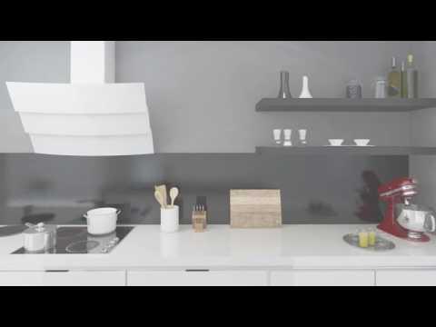 Okap przyścienny GLOBALO Vintio 90.1 White Eko Max  | Ciche i wydajne okapy GLOBALO