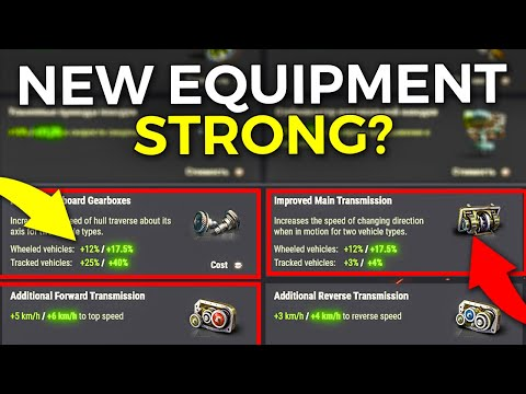 This Makes Some Tanks Too Good? | World Of Tanks Equipment 2.0 Review