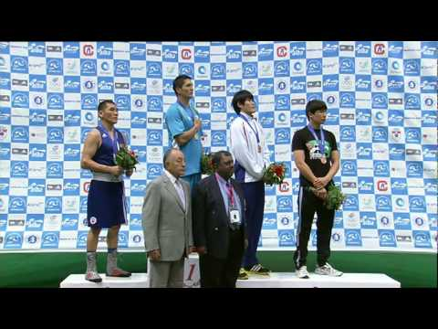 Middleweight Award Ceremony  - ASBC Asian Confederation Championships 2011