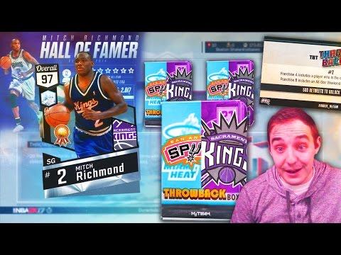 NBA 2K17 My Team BEST SHOOTER THROWBACK DIAMOND IS COMING! TBT PACKS!