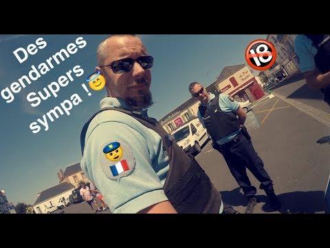 CONTR�LE DE GENDARMES SUPER SYMPA !!!