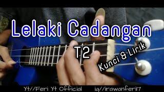 Download Lagu T2 - Lelaki Cadangan (Kunci&Lirik) Cover Kentrung Ukulele by Feri Yt Official mp3