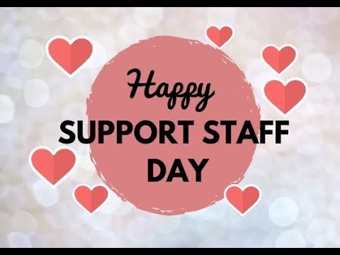 Image result for support staff appreciation day