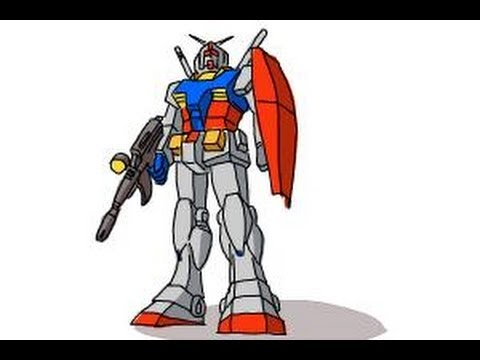 How To Draw A Gundam Youtube