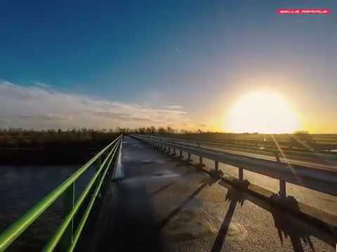 Pano-lapse of the view on the Amsterdam Rhine Kanaal