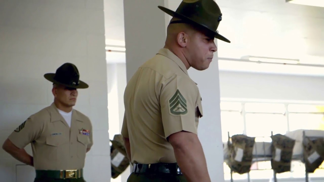 drill instructor gives epic speech  u2013 united states marine