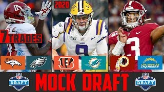 2020 NFL Mock Draft With TRADES | 3 Round NFL Mock Draft 2020