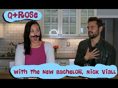 Q&Rose with the new Bachelor, Nick Viall!