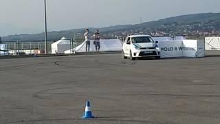 Ronny C'Rock parkolási technikája a Volkswagen találkozón 2016. Október 1.