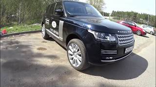 Land Rover Range Rover 4.4 SD AT Vogue SE POV Test Drive