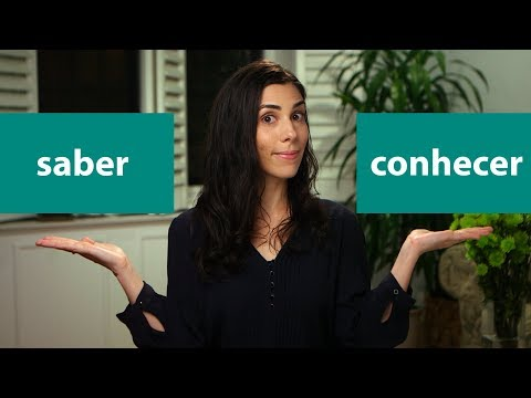 """How to use the verb """"to know"""" in Brazilian Portuguese - saber ou conhecer? - Speaking Brazilian"""