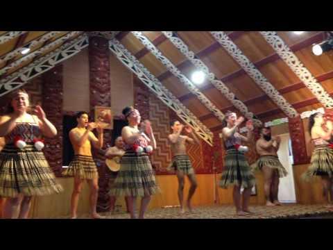 Kapa Haka performing art concert @ Te Puia