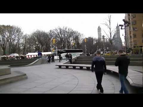 NYC Columbus Circle Dec'11