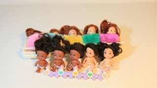 Quints 90s Toy Babies Quintuplet Dolls by Tyco