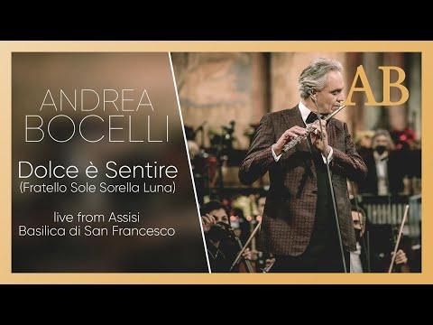 Смотреть клип Andrea Bocelli - Dolce È Sentire
