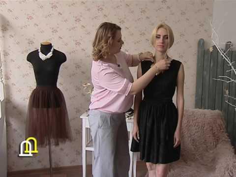 подбираем украшения к маленькому черному платью