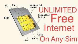 FREE UNLIMITED INTERNET ON ANY SIM CARD NEW TRICK 2017 THE BEST WAY