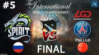 КАРТА СТОИМОСТЬЮ В 18 ЛЯМОВ!   Spirit vs PSG.LGD #5 (BO5) GRAND FINAL   The International 10