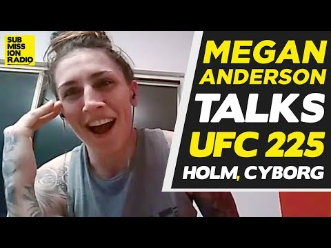 Megan Anderson: Stop With The