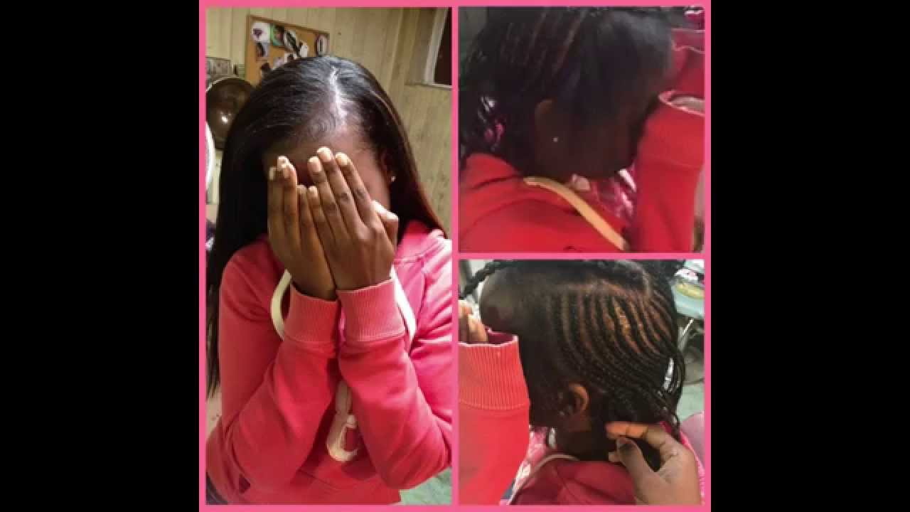 Deep Side Part Sew In Youtube