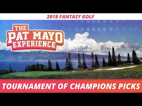 Fantasy Golf Picks: 2018 Sentry Tournament of Champions Picks, Sleepers and Preview