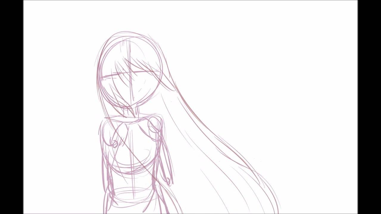 Lazari Hair Animation Practice - YouTube