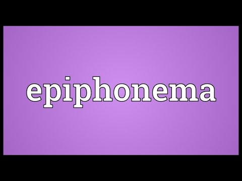 Header of epiphonema