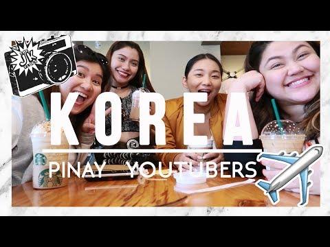 KOREA VLOG Day 1 Part 2: Pinay Youtube BARKADA + Photoshoot #TheJKVlogs | Kris Lumagui