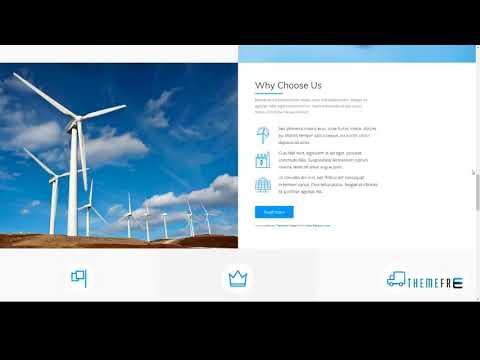 Nur - Alternative and Renewable Energy WordPress Theme        Ern Jac