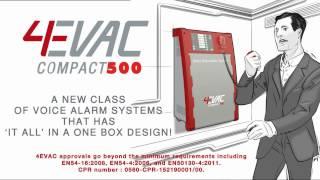 4EVAC - Voice evacuation system presentation - ISE 2017- BOOTH 7-C220