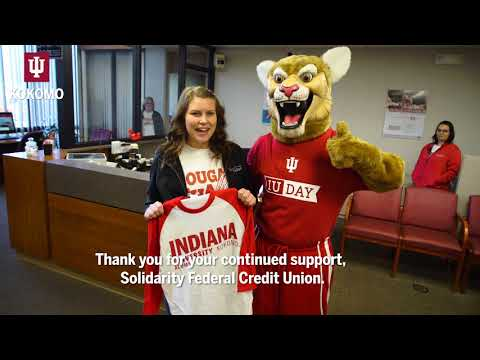 This is #IUDay: Kingston stops by Solidarity Community Federal Credit Union