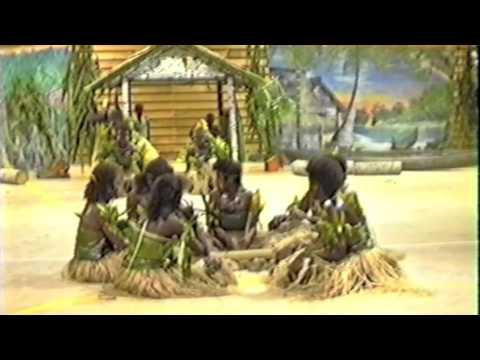 Solomons traditional dancing at SICHE 1991