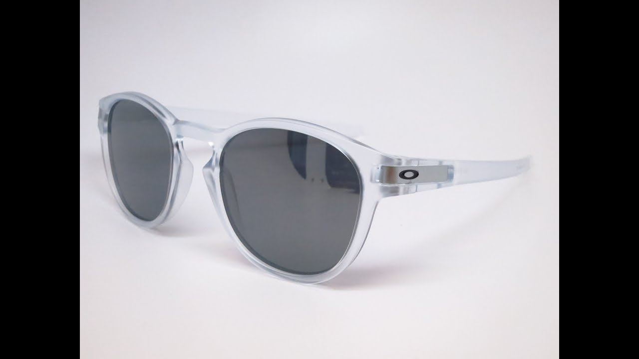 oakley clear sunglasses bncy  Oakley Unboxing Latch OO9265-04 Matte Clear Sunglasses
