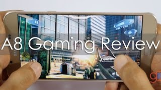 samsung galaxy a8 gaming review with popular games