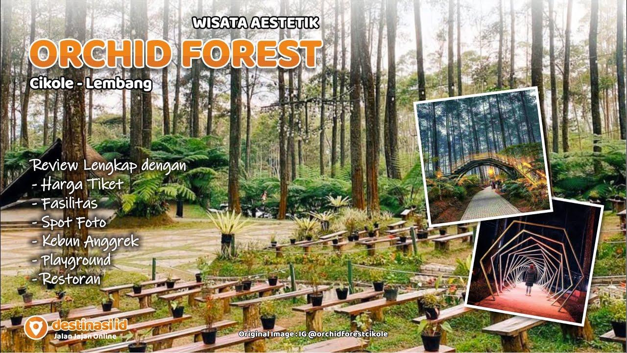 Wisata Orchid Forest Cikole Lembang Bandung Destinasiid